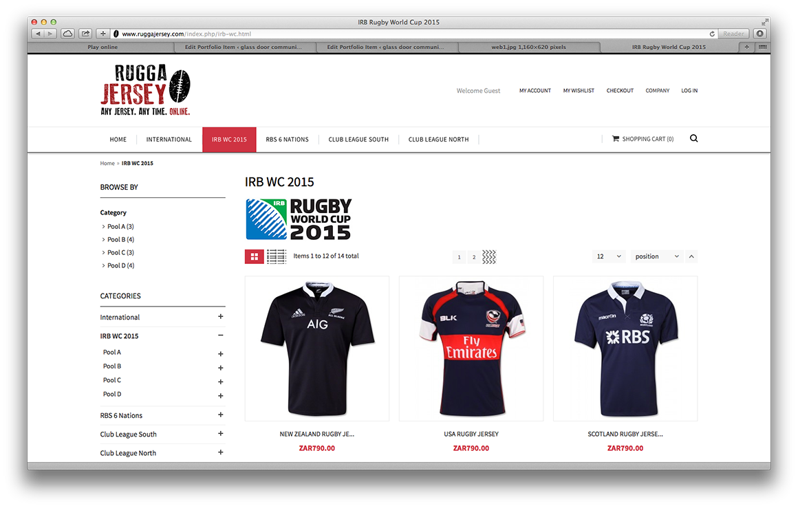 World cup rugby jersey sale ruggajersey